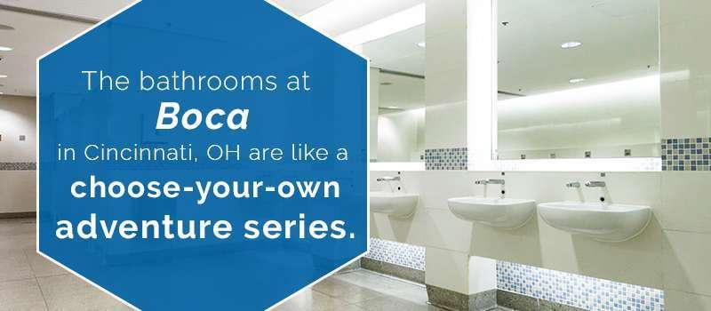 Most Unique Restaurant Bathrooms One Point Partitions - Bathroom partitions portland oregon
