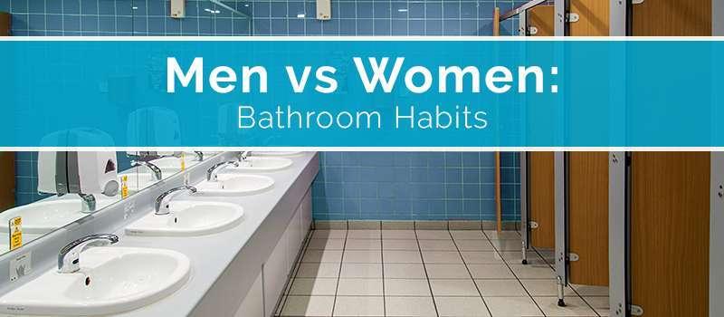 Women vs. Men Bathroom Habits