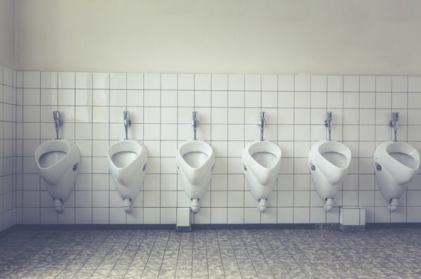 Mens Restroom Etiquette Infographic   How To Pee In
