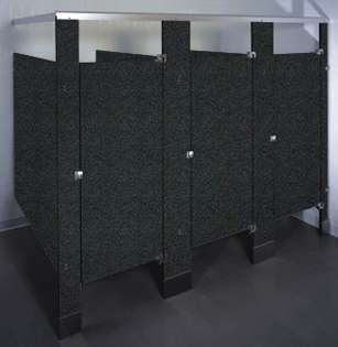 Graphite Grafix Phenolic Bathroom Stalls