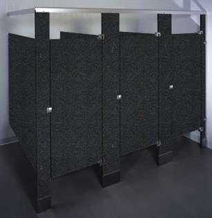 Graphite Grafix Phenolic Bathroom Stalls