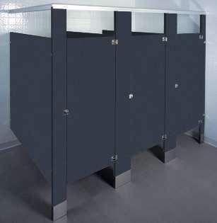 Graphite Grafix Bathroom Stalls