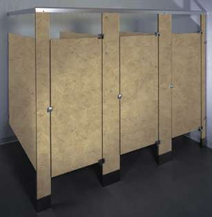 Natural Canvas Phenolic Bathroom Stalls