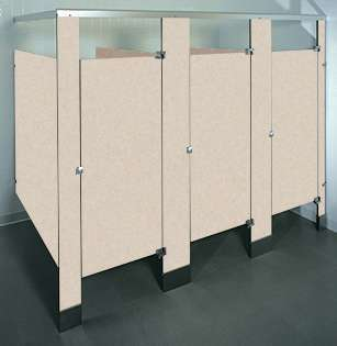 Desert Zephyr Phenolic Bathroom Stalls