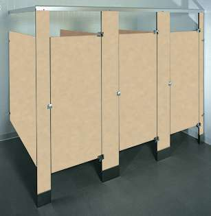 Tungsten EV Phenolic Bathroom Stalls