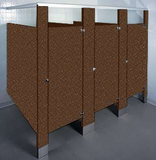 Brazilian Topaz Bathroom Stalls