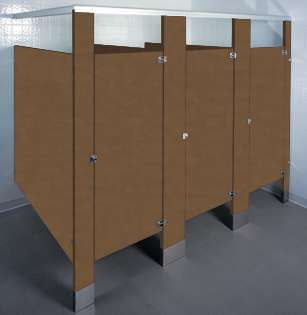 Western Bronze Bathroom Stalls