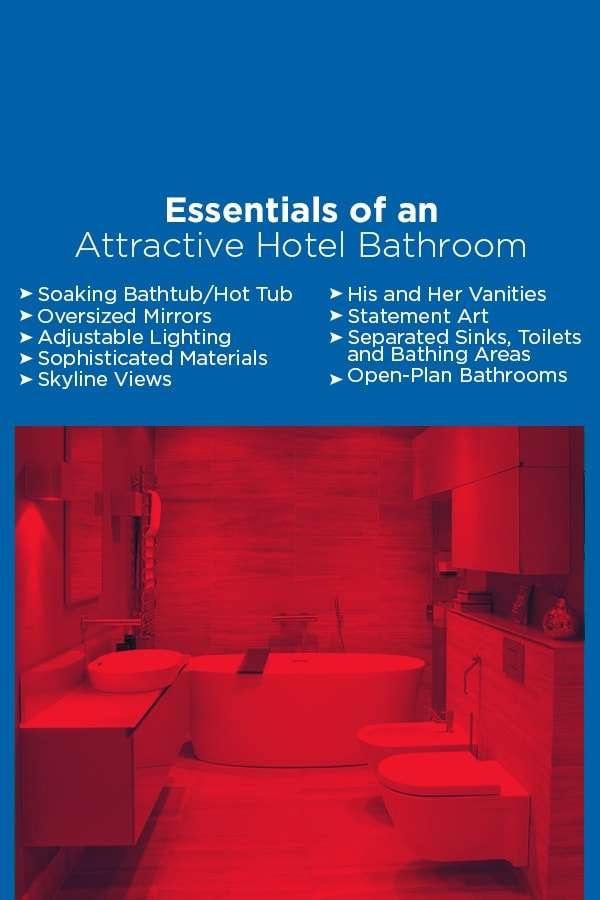 9 essentials of an attractive hotel bathroom
