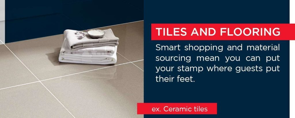 Tiles and flooring - ceramic tiles