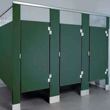 solid plastic toilet partitions online