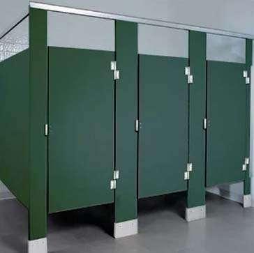 solid plastic toilet partitions