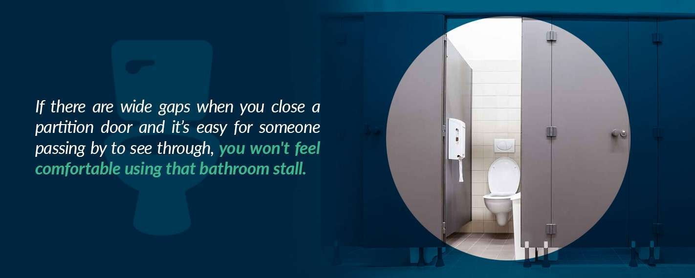 Bathroom Partition Safety Concerns One Point Partitions