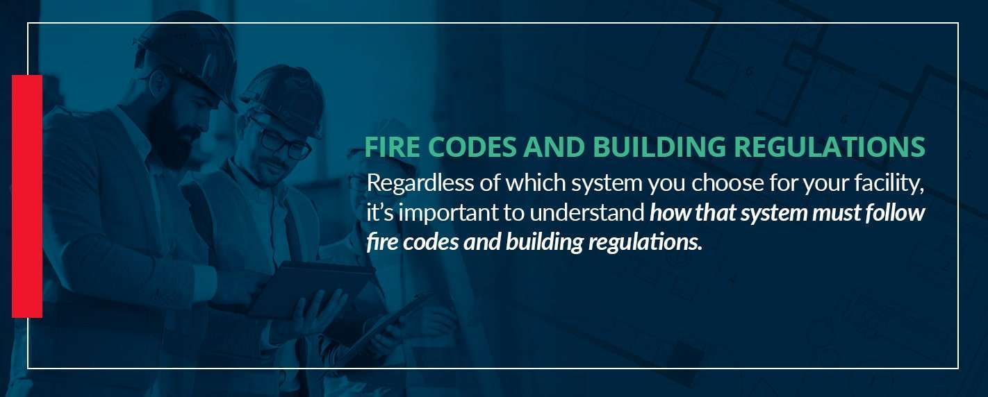 follow fire codes and building regulations