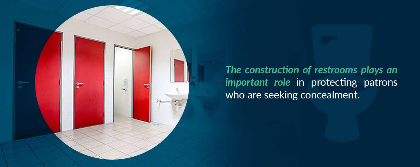restrooms provide protection from natural disasters