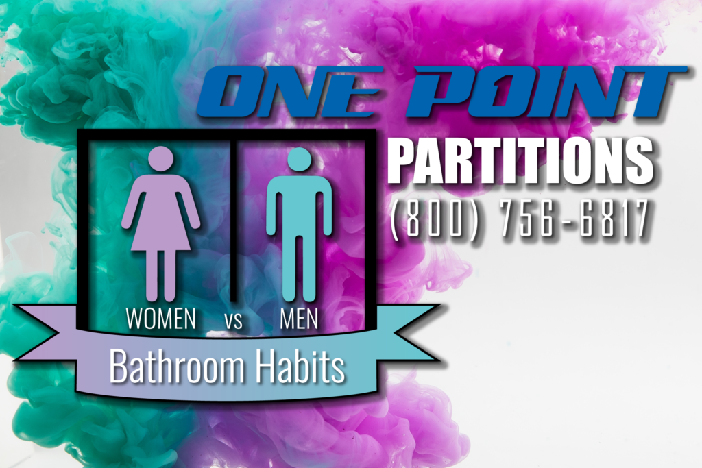 men vs. women bathroom habits