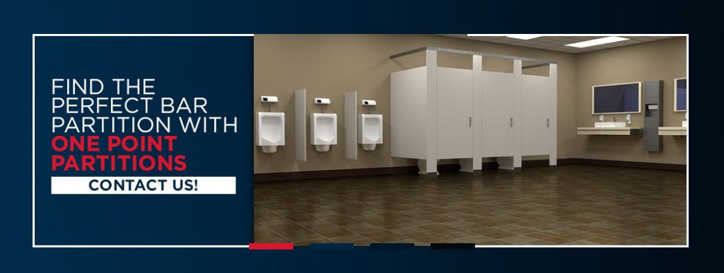 Find the Perfect Bar Bathroom Partitions - Contact us!