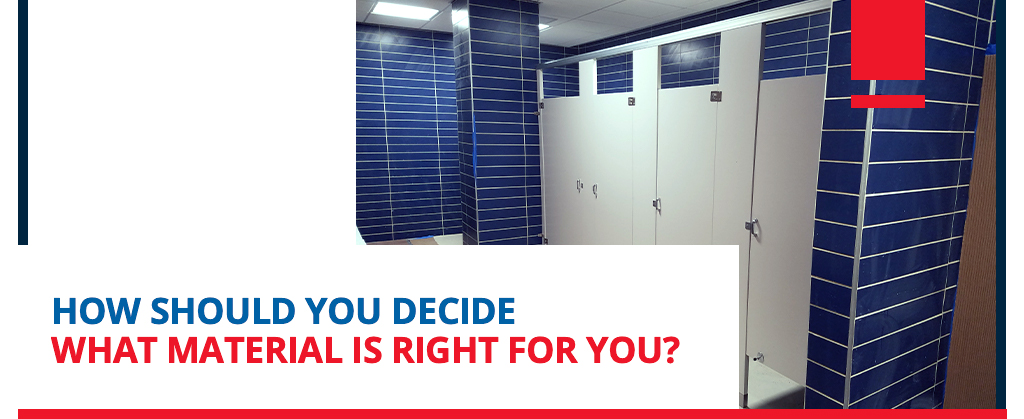 which toilet partition material should you choose