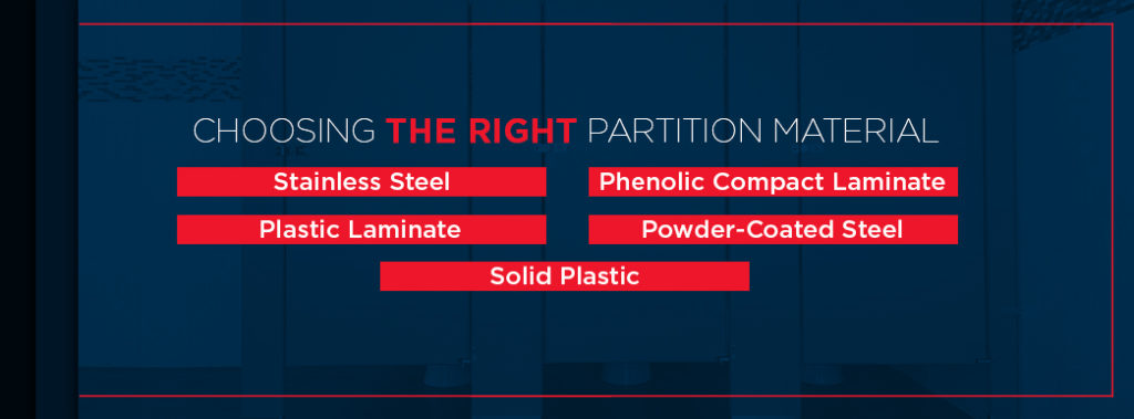 Choosing the Right Partition Material