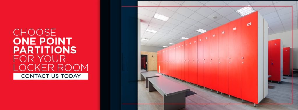 Choose One Point Partitions for Your Locker Room