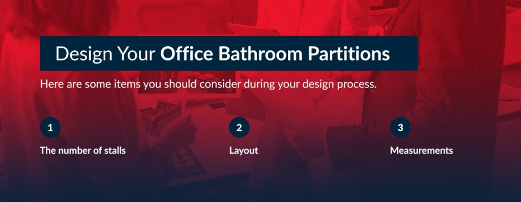 Design Your Office Bathroom Partitions