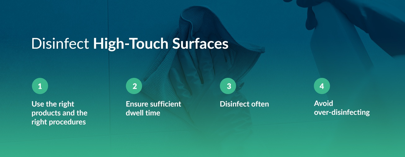Disinfect High Touch Surfaces